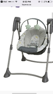 Graco Swing by me Infant swing