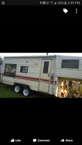 Fith wheel trailer for sale