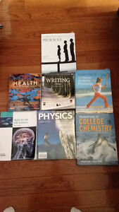 All Pre-Health Text books