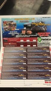 Paintball Action Games 20 Admission Pack
