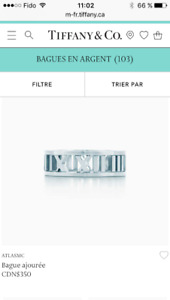 Bague Tiffany & Co en argent - Tiffany & Co silver ring