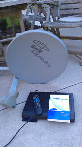 Satellite receiver and dish London Ontario image 1