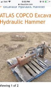Atlas Copco Hydraulic Excavator Hammet