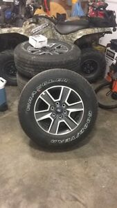 2016 Ford XLT sport tires - never used!