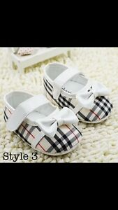 New Burberry Baby Shoes