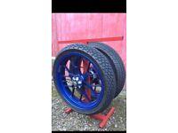 Aprilia rs 125 wheels for sale