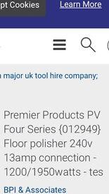 Premier product buffer polisher