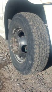 17  inch  RAM  DUALLY  WHEELS