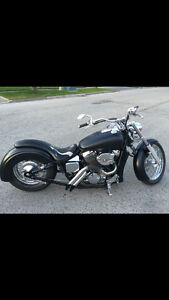 Custom built Honda street bobber-Must be seen n heard!!