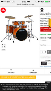 New drum set for trade/ fender twin