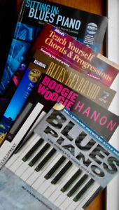 8 blues, boogie, and how-to piano / keyboard books