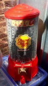 Chupa Chup lolly vending machine