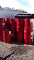 45 gallon drums / burn barrel
