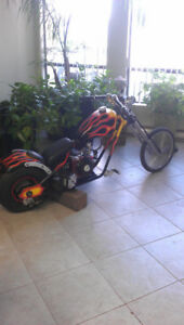 Mini Custom Chopper Motorcycle 6.5 HP