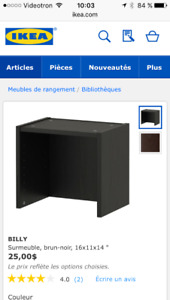 Ikea Billy Surmeubles