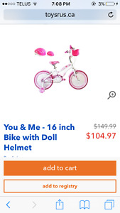 Girls bike for sale brand new