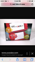 Nintendo 3ds XL-red