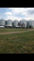 Seedmaster air drill bourgault 6550