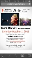 Mark Reeves coming to Desboro Saturday October 1st