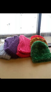 Hand Knitted Hats and Scarves (Infinity/Regular)