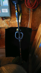 electric charge grass trimmer. $30