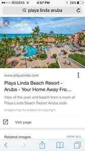 1 week Aruba condo available...playa Linda resort sleeps 4