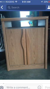 Tv hutch and cabinet