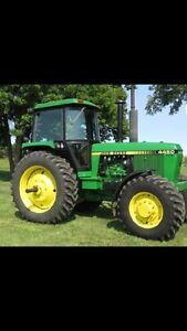 Wanted John Deere tractor