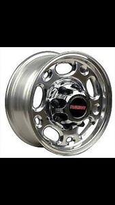 "16"" gmc 8 bolt alum rims"