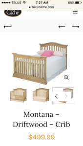 Montana brand double bed & frame