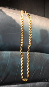 "24"" Heavy Gold Plated chain"