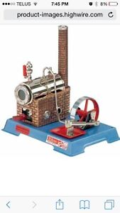 Wanted older or new toy steam engines
