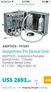 ADU-10 AsepticMini portable dental equipment. PRICE REDUCED