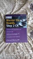 Master the Boards Step 2 CK 4th edition brand new