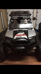 Polaris rzr seats, roof, and side bars