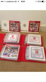 Arsenal victory cards