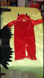 Baby devil costume. Size 12-18 months.