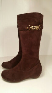 MICHAEL KORS - authentic - botte fille - taille 4 US