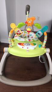 Jumper for infants and toddler with lovely music and toys.