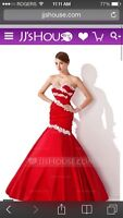 Red gown size 4-6