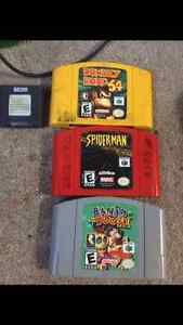 N64 with exspansion  2 controllers trade for a cell phone Edmonton Edmonton Area image 2