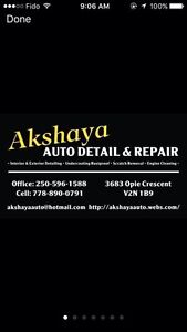 Selling are detailing business - Akshaya Auto Detail!