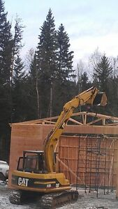 Excavators and Bull Dozers For Hire, with operator Prince George British Columbia image 2