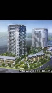 Kennedy and Sheppard Luxury High-rise New Condo for Rent