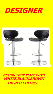 BRAND NEW VERY STYLISH CURVED DESIGNER BAR STOOL ONLY $69