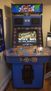 Street fighter arcade looking for