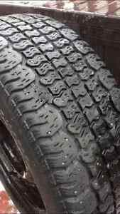 4 Bolt Universal Snow Tires 195/60R14 London Ontario image 3