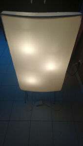 Ikea 3-bulb floor lamp w/dimmer