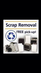 FREE PICK UP OF SCRAP METAL AND APPLIANCES