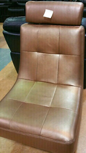 Genuine Leather Rolling Chair on Sale  $400